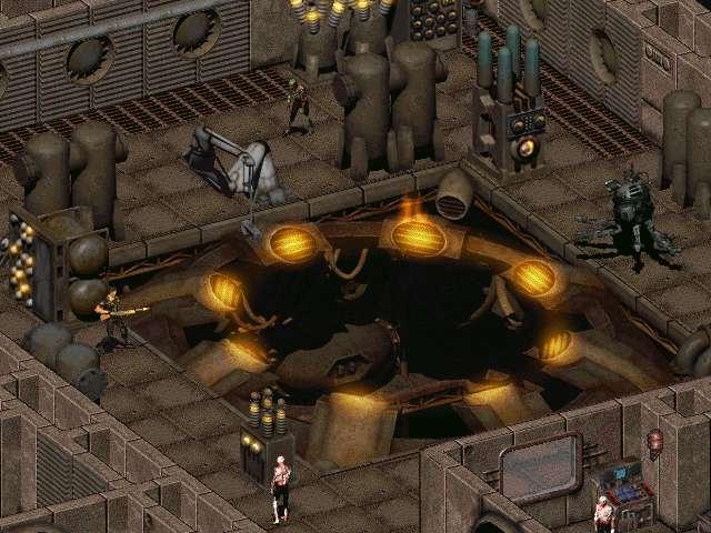 Залезаем в реактор... и чиним изнутри...