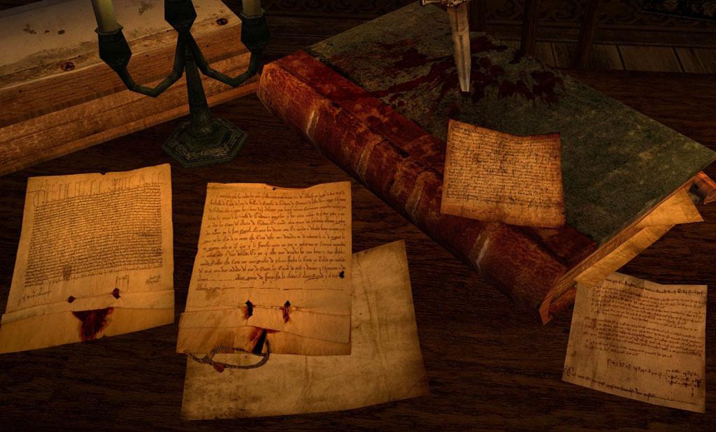 Старинные рукописи в картинках