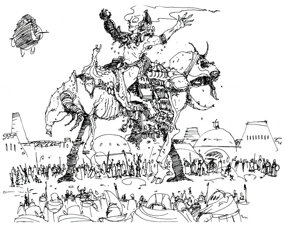 День рождения Вивека (концепт-арт)