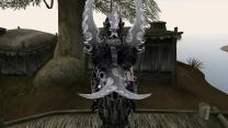 Черные текстуры клинков Аззинота