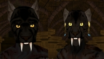 Расы Черных Хаджитов и Пантер