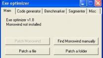 EXE Optimizer