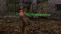 Стеклянные короткие мечи