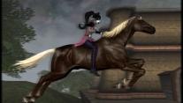 Ретекстур лошадей Ранчо 'Пегас'