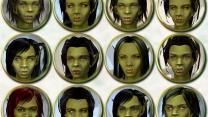Женские лица для орков от Emma