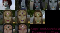 Лица от Kagz и Sorcha 1: Эльфы