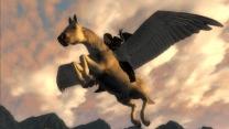 Ездовой летающий Пегас