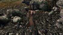 Комплект женской стальной брони Совнгарда