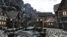 Творческое изображение - Халлгар, поселение на Колдеране