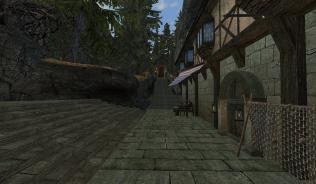 Таверна и проход к тоннелю