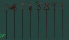 Staffs of the Daedra
