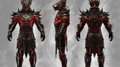 Творческое изображение - Даэдрическая броня