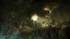 Творческое изображение - Fungal Grotto