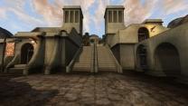 Ретекстур архитектуры Хлаалу в дефолтных тонах