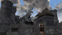 Реплейсей статуи имперского дракона