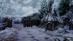 Творческое изображение - Колдеранская деревня