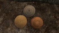 Три плетёных щита