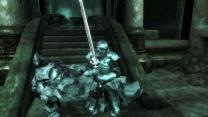 Древняя серебряная броня