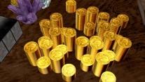 Переливающееся золото