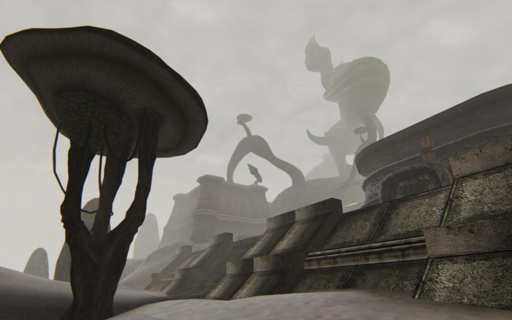 Тель Ривус возвышается над древней крепостью Андварион.