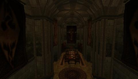 Главный зал Крепости Эмбер.