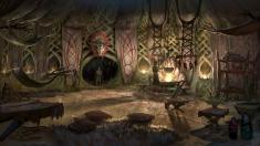 Творческое изображение - Внутри жилища лесных эльфов Валенвуда