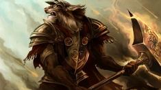 Творческое изображение - Каджит воин