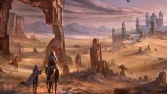 Творческое изображение - Аликрская пустыня
