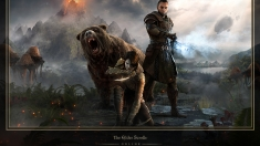 Творческое изображение - Morrowind Hero Art с рамкой