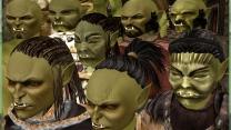 Головы MacKom'a с причёсками на телах Robert'a. Орки