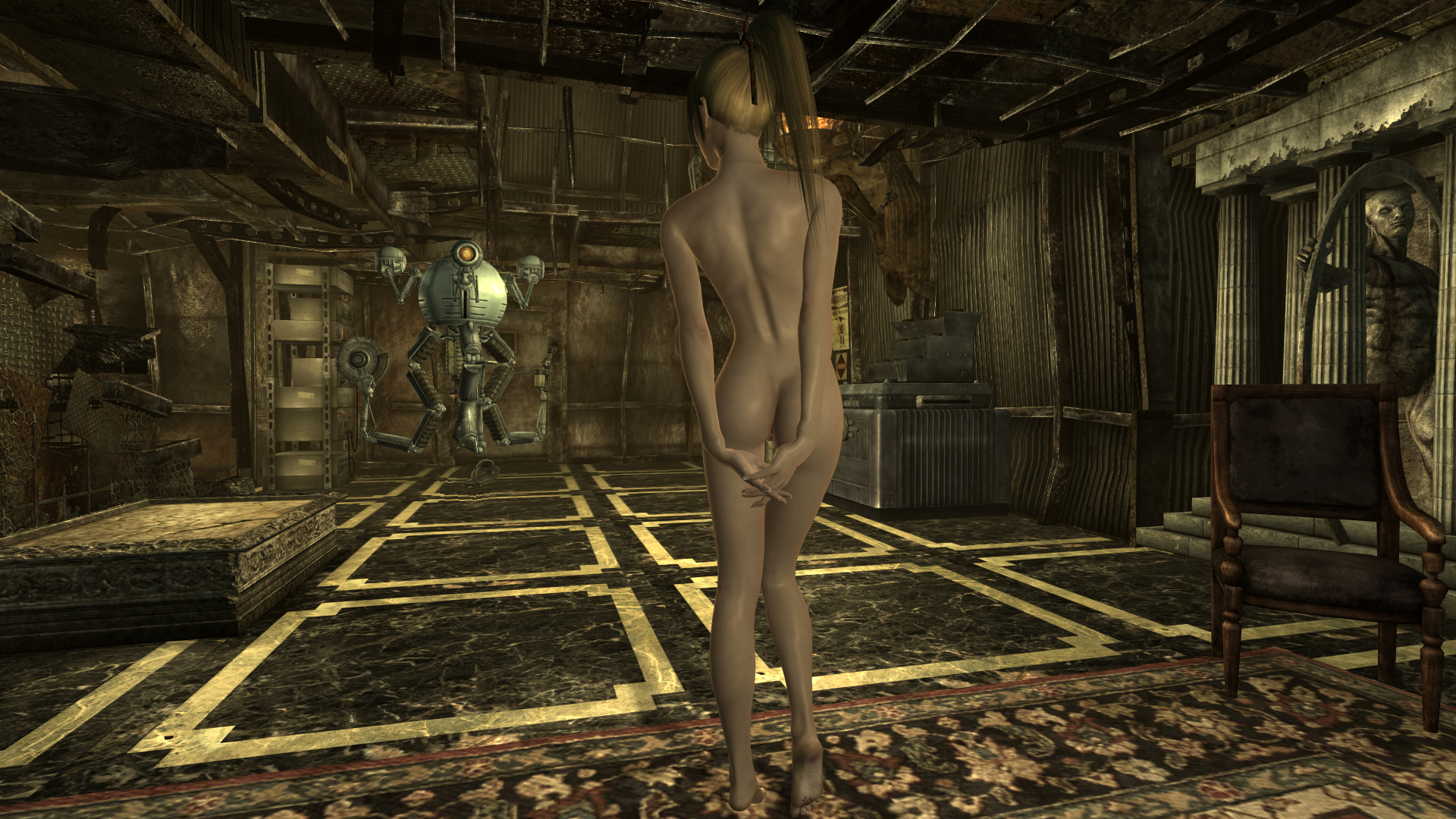 Girls naked in fallout 3 hentai picture