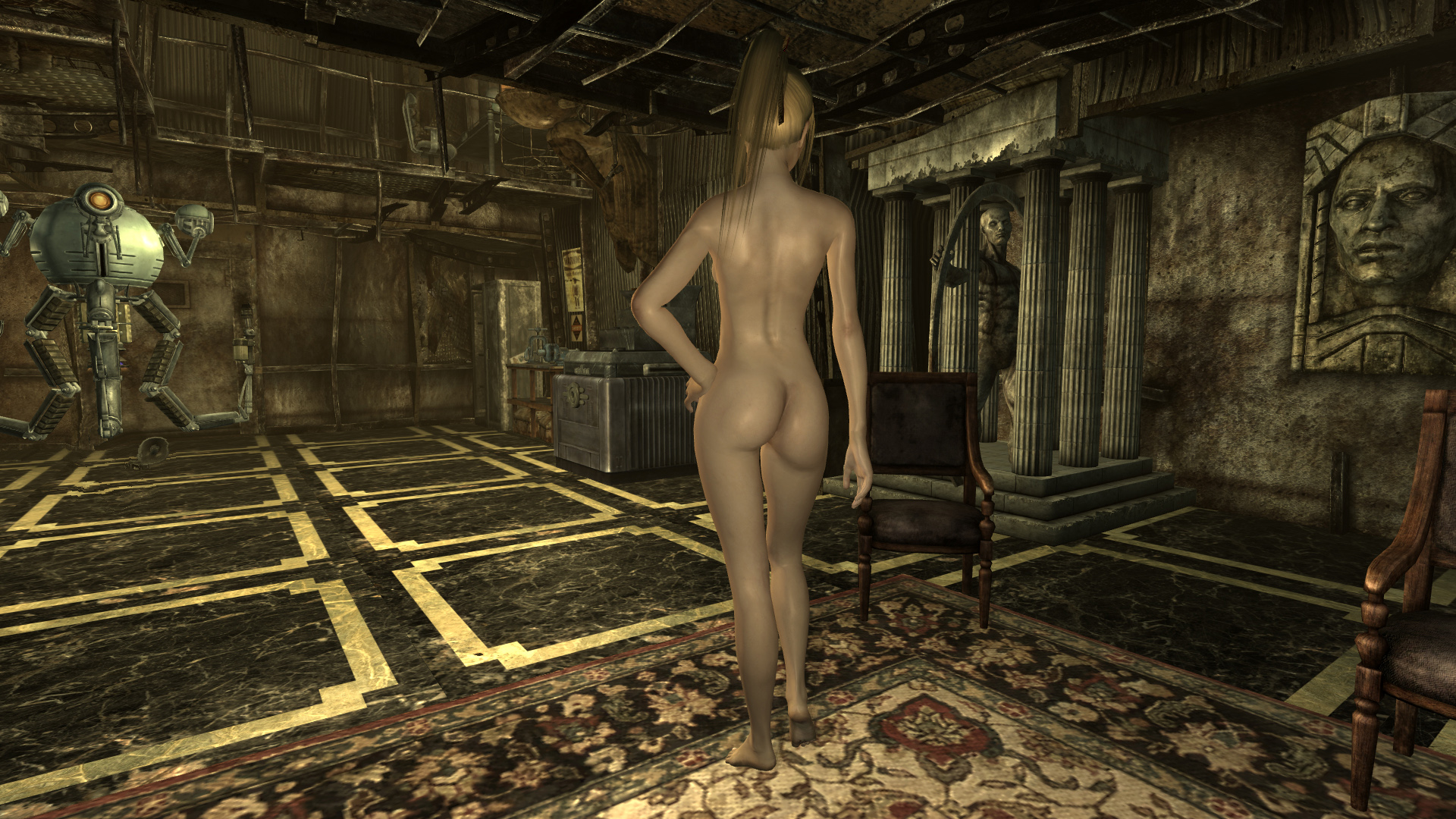Fallout nude body replacer sex gallery