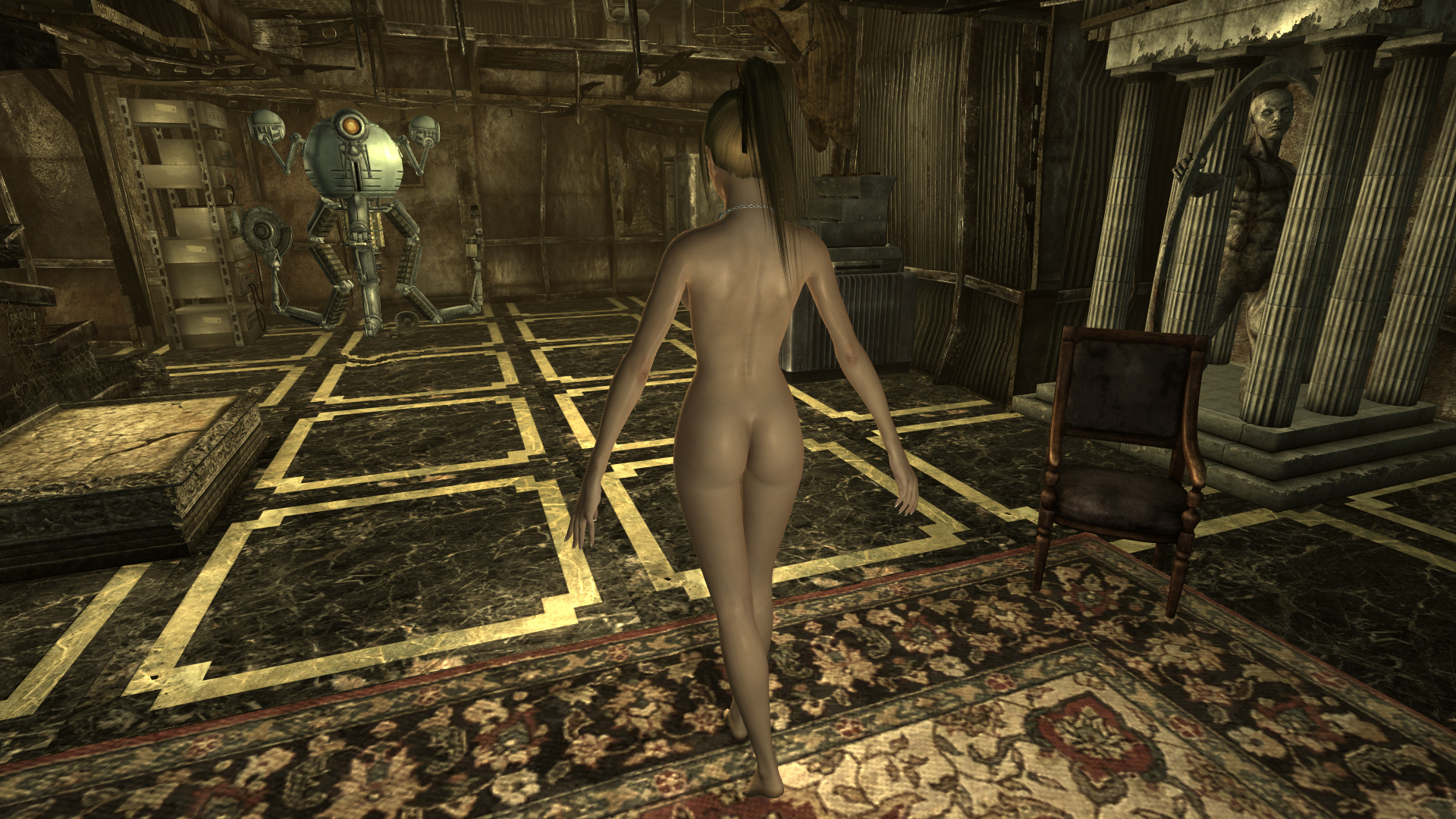Fallout 3 nude male mod naked photos