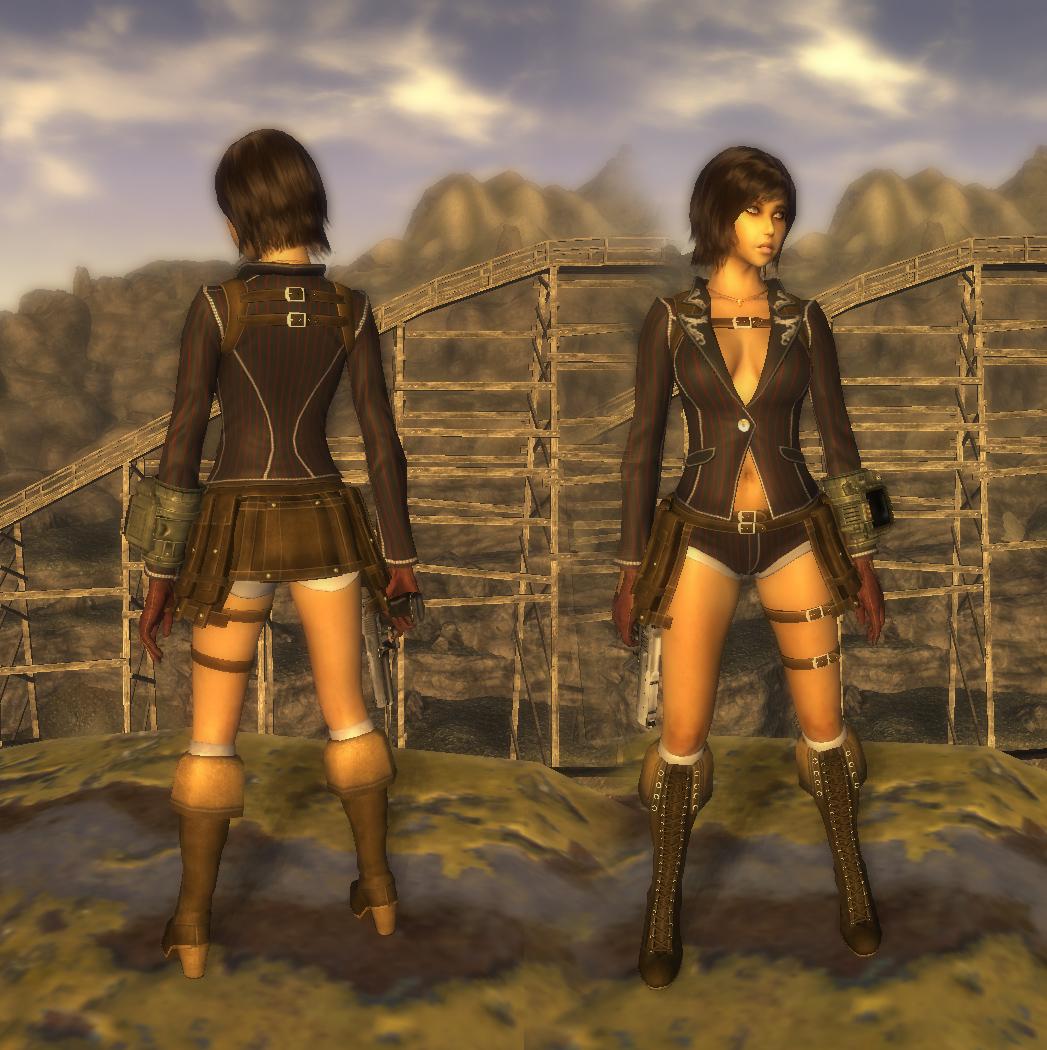 Fallout 3 сексуальная броня и одежда