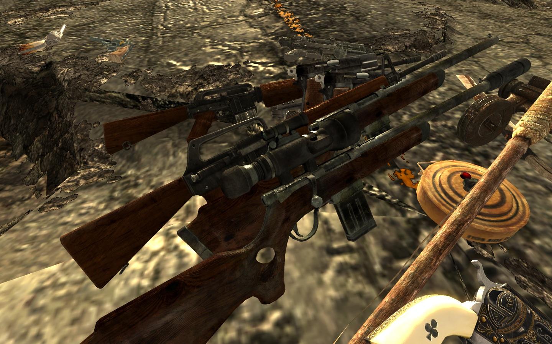 Fallout new vegas мод на оружие скачать