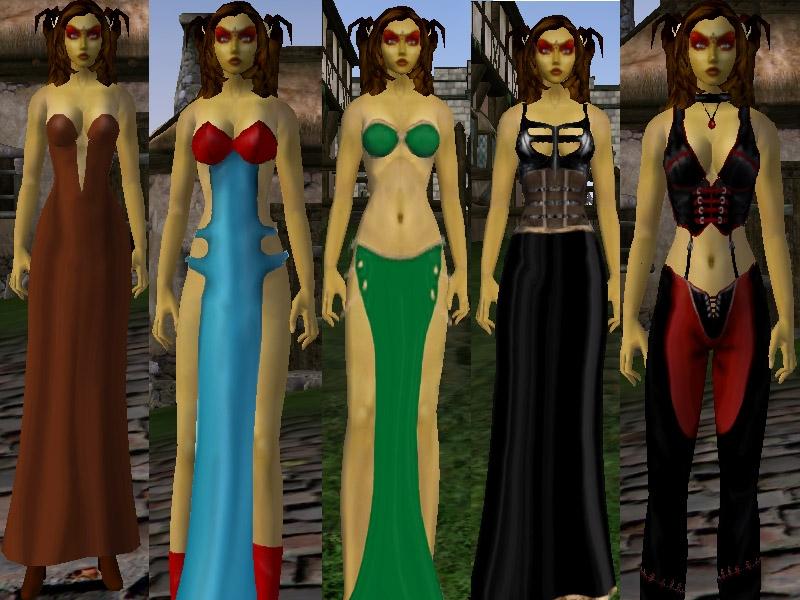 Morrowind сексуалная одежда