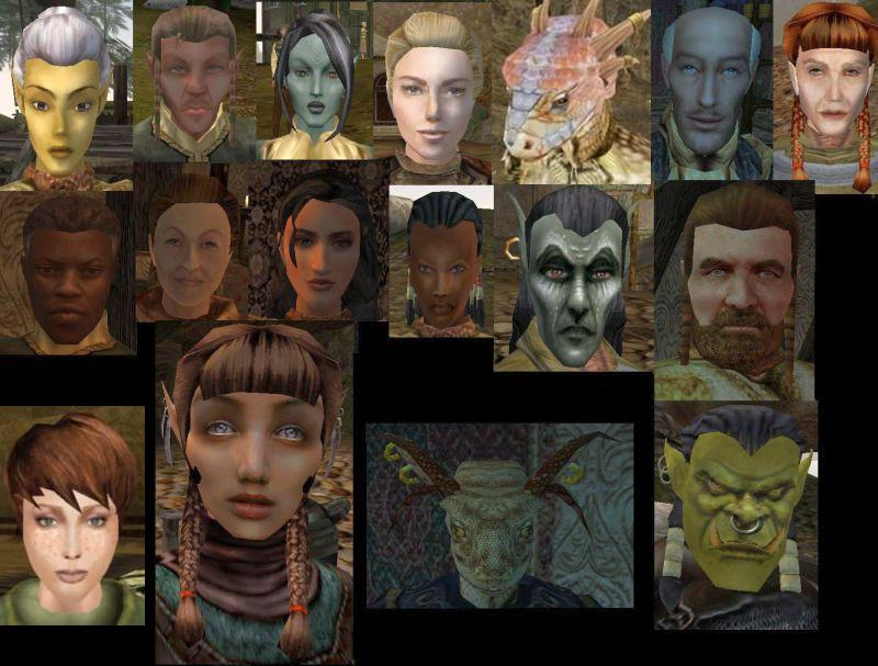 Morrowind: better faces and better bodies comparison youtube.