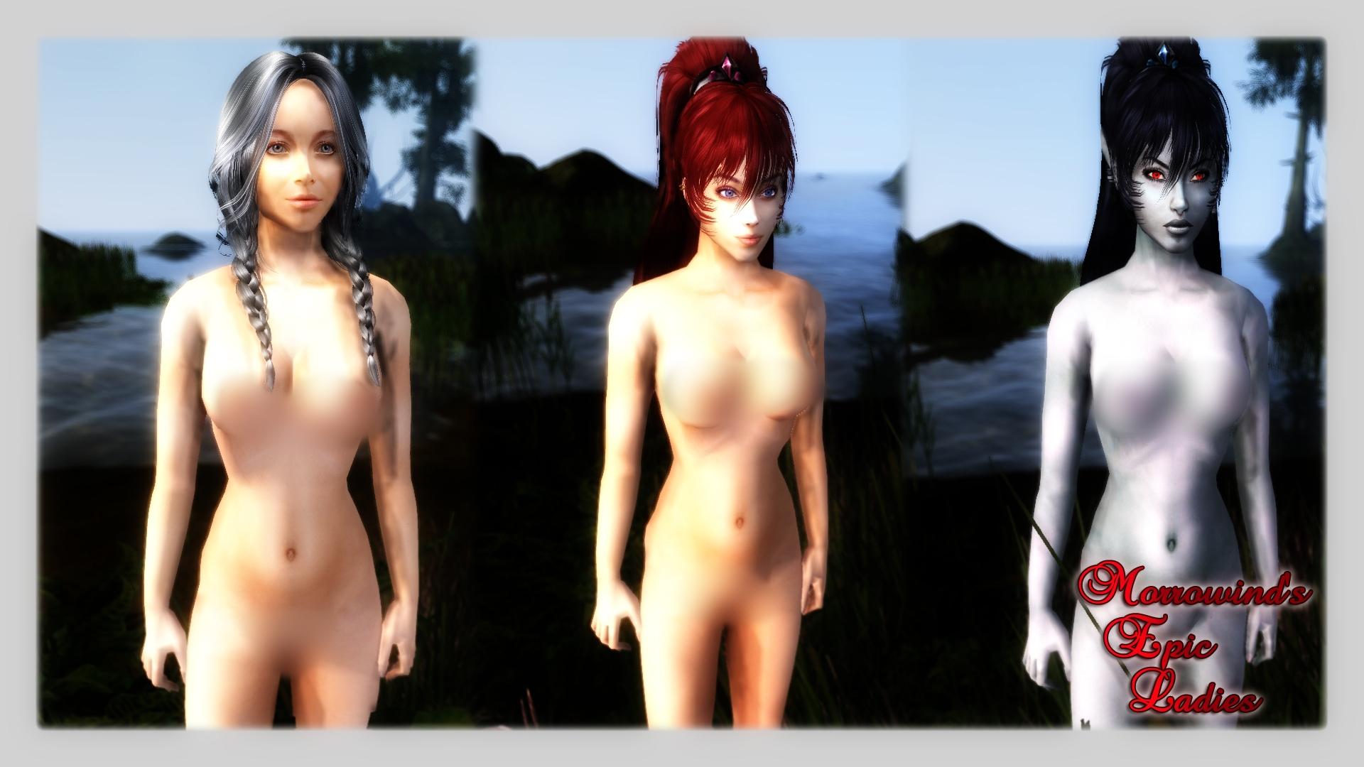 Girl of morrowind nude xxx photo