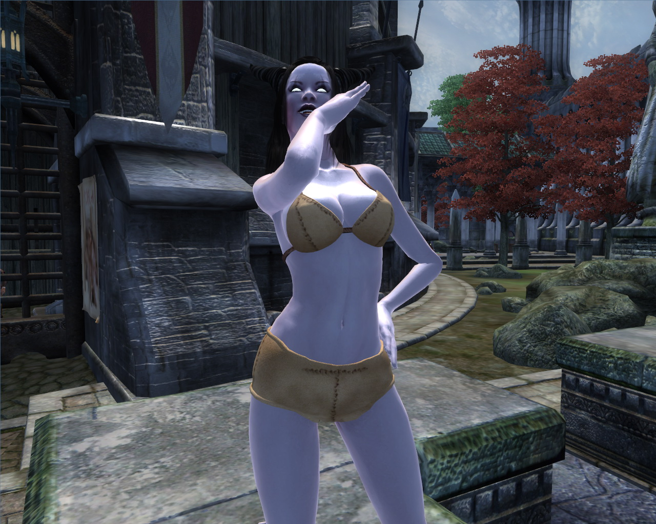 Oblivion nude cheat ps3 sexy clip