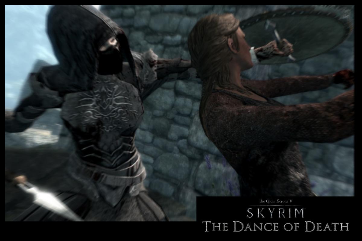 Скачать мод для скайрима на танцы