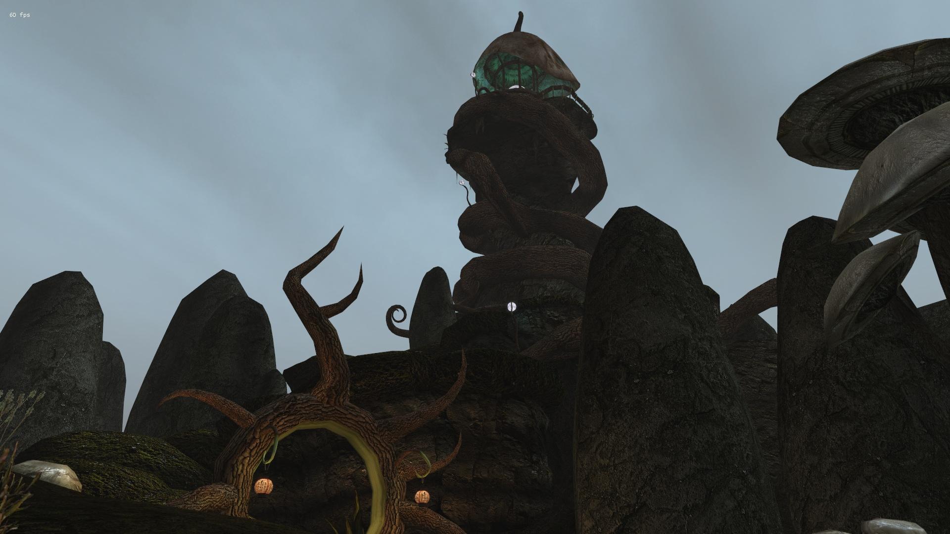 RR Mod Series - Telvanni Lighthouse Tel Branora - Elder Scrolls 3