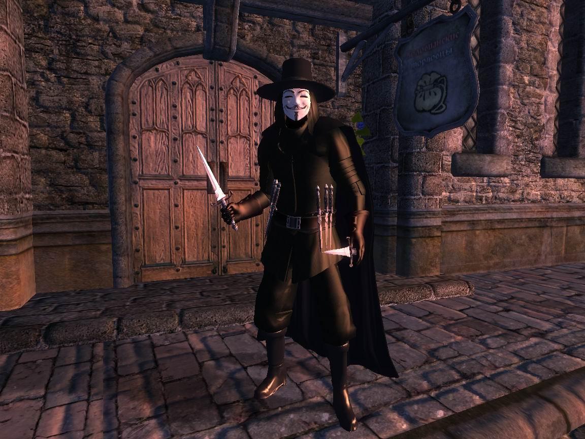 V - значит вендетта - Elder Scrolls 4: Oblivion