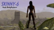 Реплейсер женских тел SKINNY-6 для Fallout 3