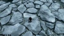 Вот это и есть лёд.
