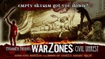 Скачать мод на скайрим на войну с городами