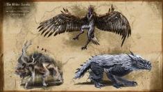 Творческое изображение - Harpy, Echatere, Durzog