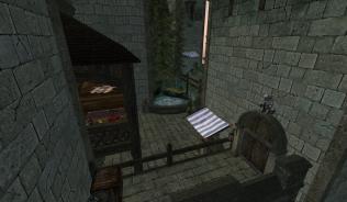 Личные покои, внутренний дворик