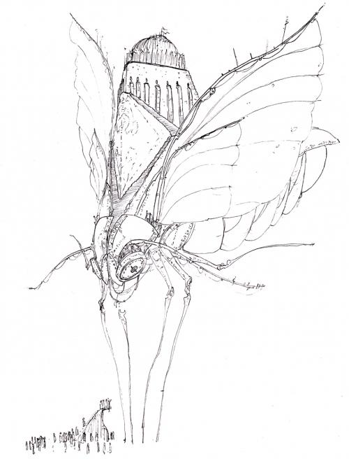 Мегаломотылек (арт Lutemoth)