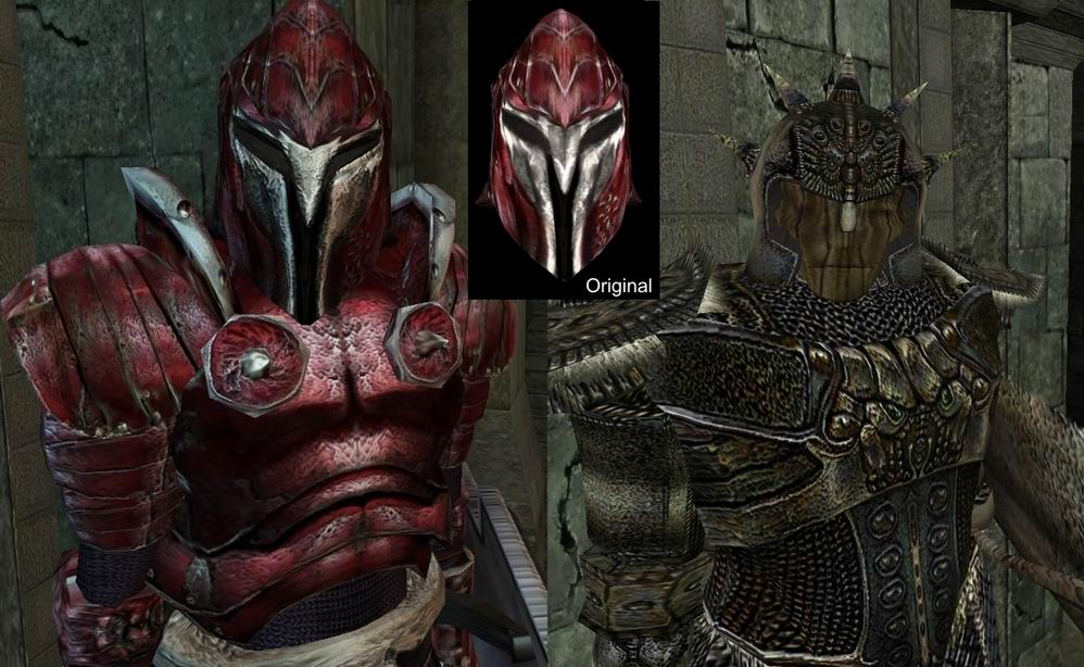 Darknut's Armor textures Требования: Morrowind + Tribunal + Bloodmoon
